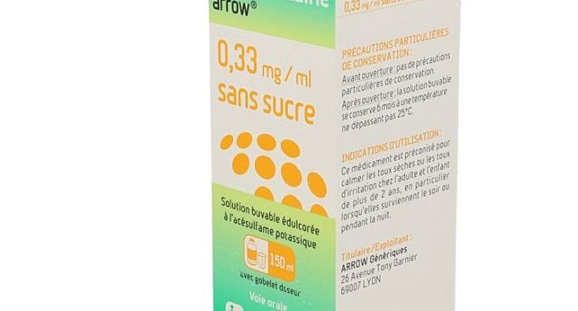 OXOMEMAZINE ARROW SANS SUCRE