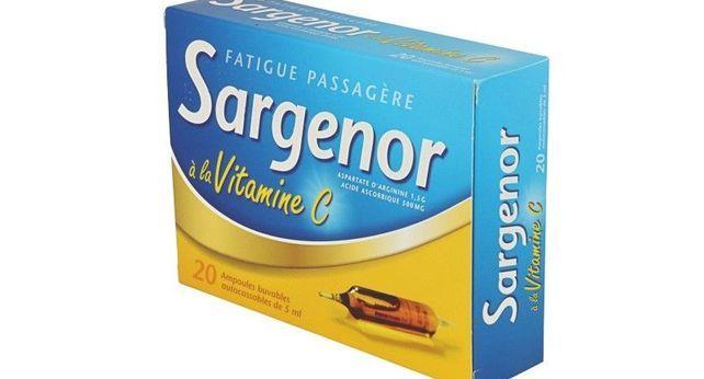 SARGENOR A LA VITAMINE C