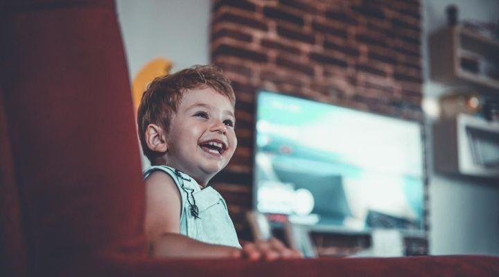 Bébé et télé