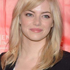 Blond platine cendré Emma Stone