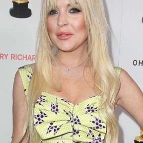 Blond platine Lindsay Lohan