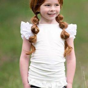 Coupe de cheveux petite fille