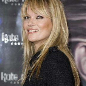 La frange de Kate Moss