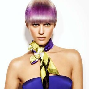 Coloration de cheveux blond Jacques Fourcade L'Oréal Professionnel 2014