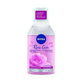 Le démaquillant bi-phase Rose Care de Nivea