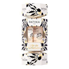 Cracker crème mains et baume à lèvres de Patyka