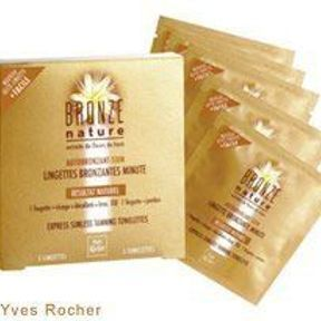 Lingettes Bronzantes Minute - Yves Rocher