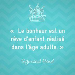 Citation sur la maternité de Sigmund Freud