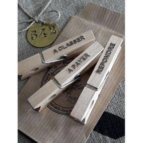 DIY rangement courriers
