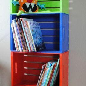 DIY rangement de livres