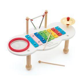 Table musicale en bois, Oxybul