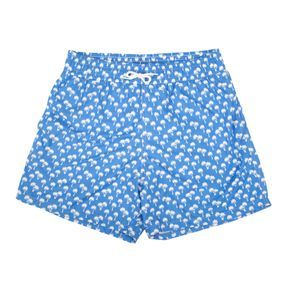 Short de bain imprimé palmiers Happy Duck