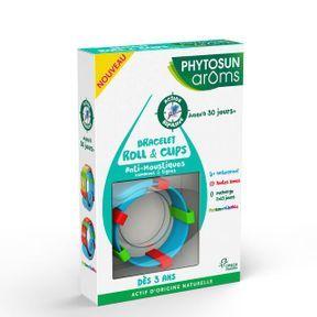 Phytosun Aroms - Bracelet Roll & Clips Anti-Moustiques
