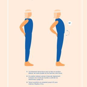 L'étirement dorsal en position debout