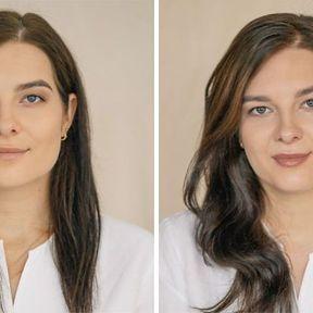 """""""Devenir mère""""- 33 femmes photographiées avant et après la naissance de leur enfant #24"""