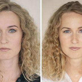 """""""Devenir mère""""- 33 femmes photographiées avant et après la naissance de leur enfant #31"""