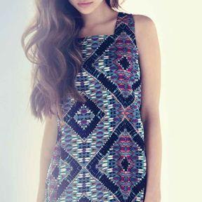 Robe imprimée New Look printemps été 2014