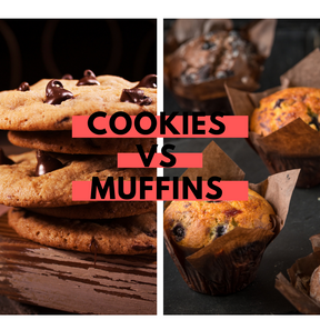 Calories : Cookies vs muffins (au chocolat !)
