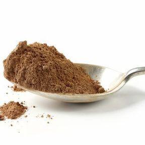 Le cacao en poudre