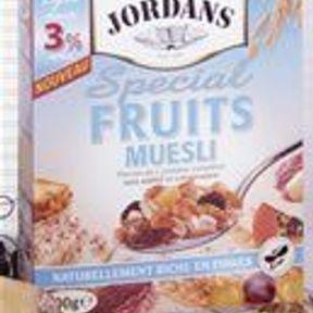 Spécial Fruits Muesli Light de Jordans