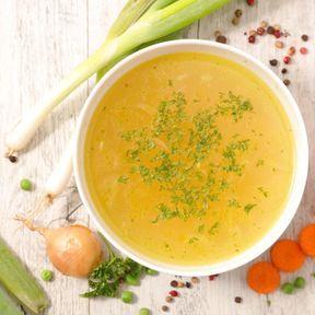 Le bouillon de légumes
