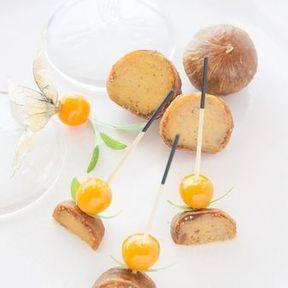 Figues farcies au foie gras 2015, Comtesse du Barry