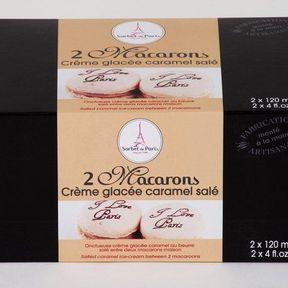 Macarons glacés Caramel Salé