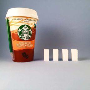 Le caramel macchiato Starbucks