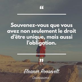 Citation d'Eleanor Roosevelt