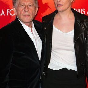 Roman Polanski et Emmanuelle  Seigner (33 ans d'écart)